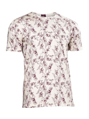 Natural Wine Print Easy T-Shirt